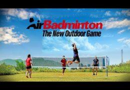 AirShuttle The New Outdoor Badminton Shuttlecock