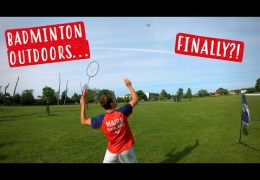 AirBadminton REVIEW – Can Badminton Finally Be Played Outdoors?!