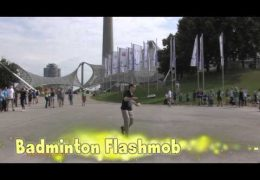 Badminton Flashmob
