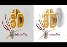 3D – Fernsehen (in HD) – Einstellungen 3D (Side by side)