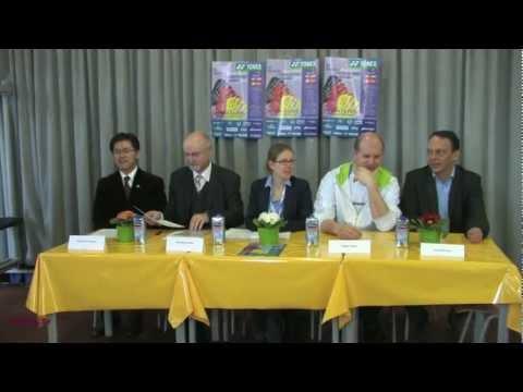 2013 Pressekonferenz DBV @ Yonex bei den DEM