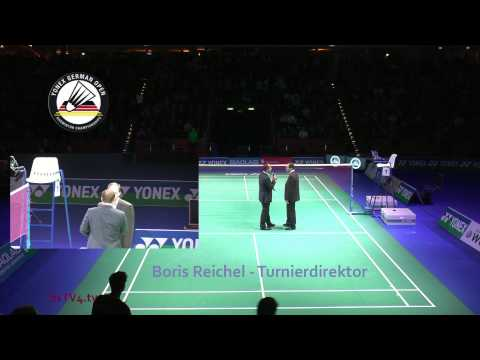 Interview Boris Reichel – Sportdirektor – YONEX German Open 2013