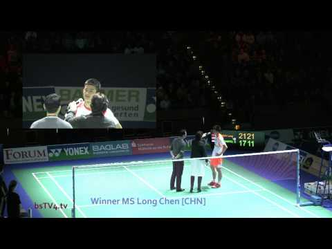Interview Long Chen [CHN] – Winner MS – YONEX German Open 2013