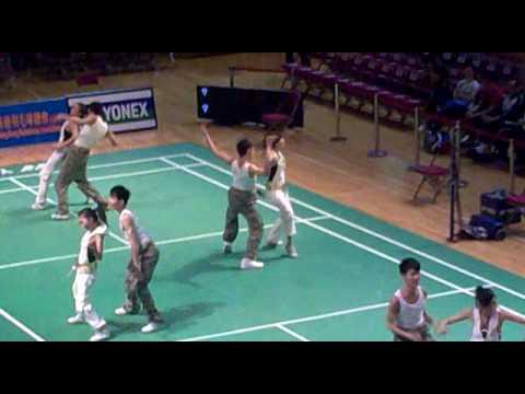 2010中銀香港全港羽毛球錦標賽 badminton dance