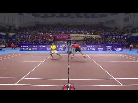 MS – Tian Houwei vs Lin Dan – China Badminton Super League > 40.000 Aufrufe