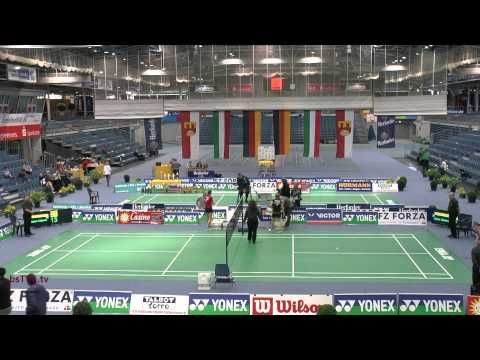 Dameneinzel – Deutsche Meisterschaften 2014 (O19)