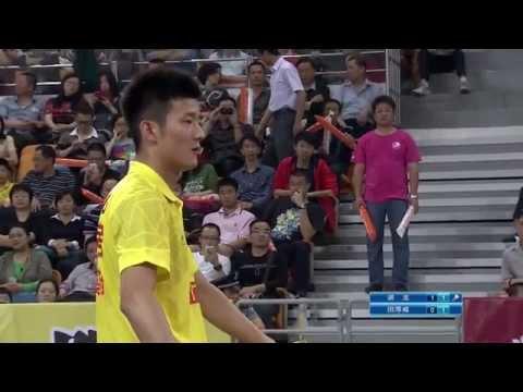 2014.5.3 – MS – Chen Long vs Tian Houwei – China Badminton Super League