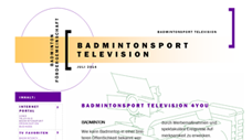 Publikation Badmintonsport TV