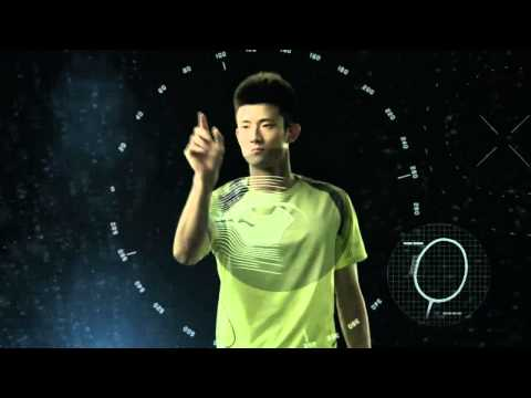 Li Ning Badminton 3D Break Free technology with Chen Long