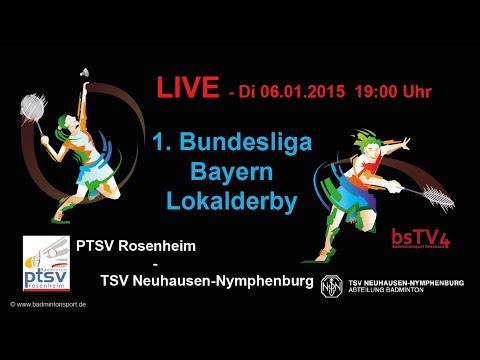 Aufzeichnung: LIVE- Lokalderby 1. Bundesliga Bayern