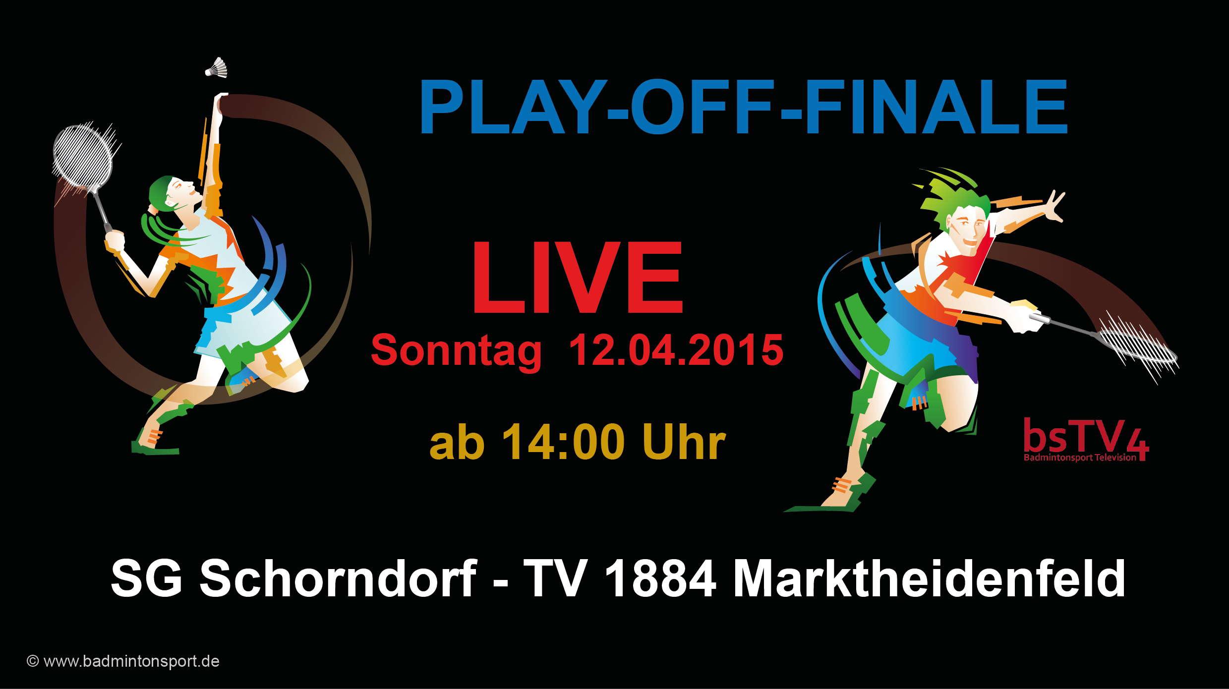 PLAY-OFF-FINALE: 12.04.2015 14:00 Uhr SG Schorndorf – TV 1884 Marktheidenfeld