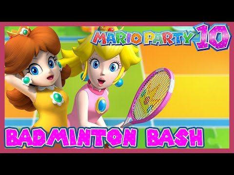 Mario Party 10 – Badminton Bash