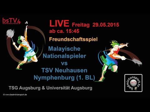 Aufzeichnung – Freundschaftsspiel – Malayische Nationalspieler vs TSV Neuhausen N. (1.BL)