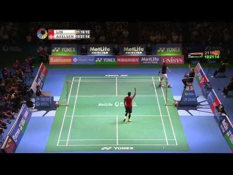 Yonex Japan Open 2015 – Badminton F M3-MS – Lin Dan vs Viktor Axelsen