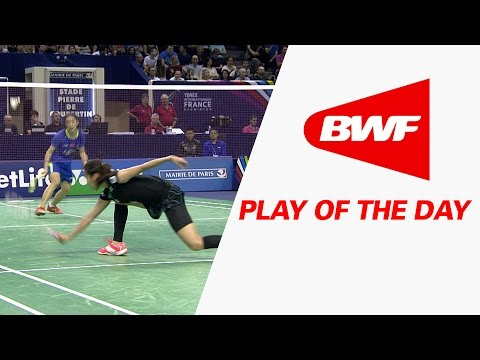 Play Of The Day | Badminton SF – Yonex French Open 2015