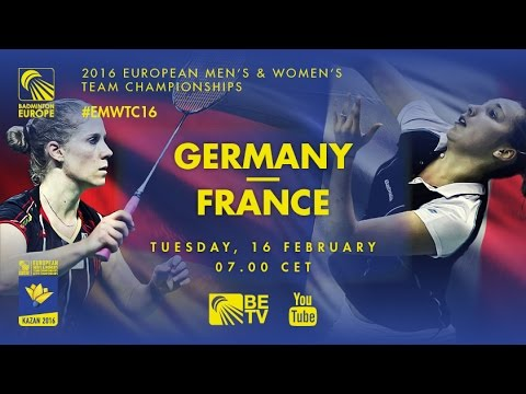 Badminton – Group Stage: Germany vs France – European Women's Team Championships 2016