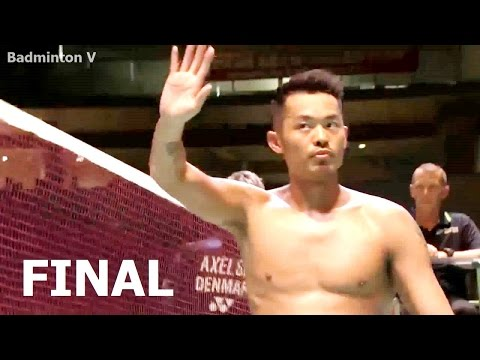 Lin Dan vs Viktor Axelsen | 2015 Japan Open FINAL