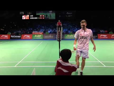 Viktor Axelsen vs Lee CHong Wei – 2014 BWF World Championships