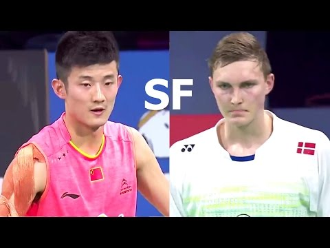 CHEN Long vs Viktor AXELSEN | 2015 Denmark Open Semi FINAL