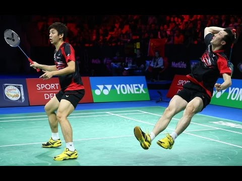 Top 10 Crazy Rallies Men's Doubles Nice Camera Badminton