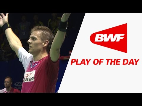 Play Of The Day | Badminton F- Thomas Cup – TOTAL BWF Thomas & Uber Cup Finals 2016