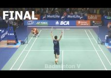 2016 Indonesia Open Final | LEE Chong Wei vs Jan O JORGENSEN