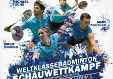 Aufzeichnung: Badminton-Schauwettkampf 2016 – TV Marktheidenfeld