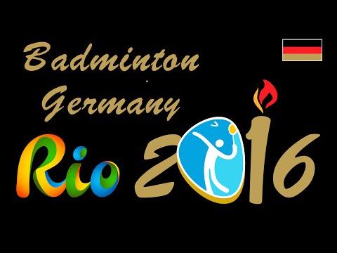 Olympia Rio Badminton Germany 2016