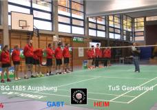 AUFZEICHNUNG: TuS Geretsried – TSG 1885 Augsburg, 29.10.2016