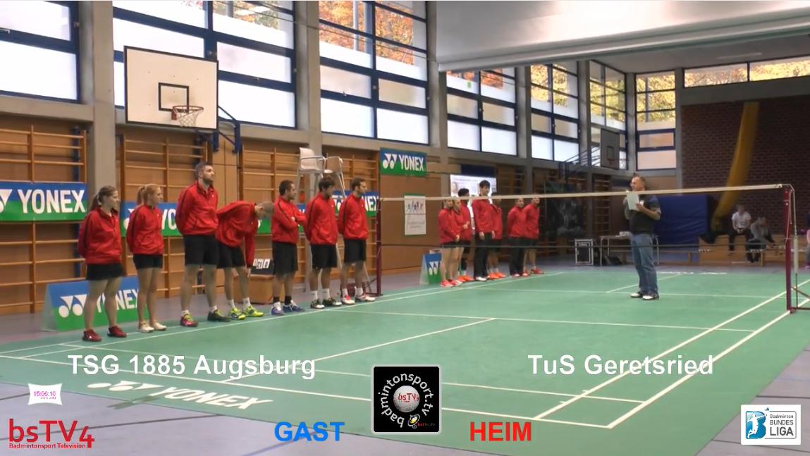 TuS Geretsried – TSG 1885 Augsburg, 29.10.2016