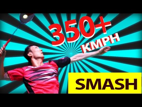 SUPER Fast Badminton SMASH 350 + KMPH