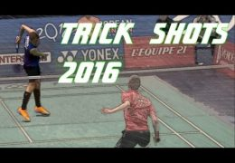 Top 10 Badminton Trick Shots of 2016 – > 873.977 Klick's