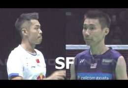 LEE Chong Wei vs LIN Dan | Badminton Asia Championships 2017 | English