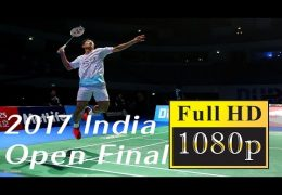 Chou Tien Chen vs Viktor Axelsen | 2017 India Open FINAL