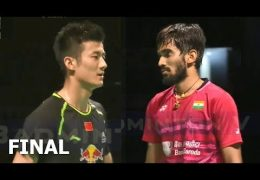 KIDAMBI Srikanth vs CHEN Long Badminton 2017 Australian Open Final