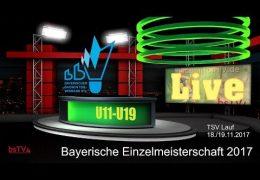 Aufzeichnung: (Sonntag) | Bayerische EM U11-U19 2017