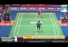 Highlight – Anthony Sinisuka GINTING vs Viktor AXELSEN – Badminton China Open 2018