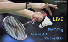 [EMTC19] GER vs AUT and SWE vs SLO [08Dez 18:00]