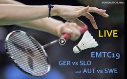 [EMTC19] GER vs SLO and AUT vs SWE [07Dez, 18:00]