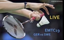 [EMTC19] GER vs SWE [09Dez 15:00]