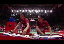 Final Kevin S. Sukamuljo/Gideon Marcus F. vs Mohammad Ahsan/Hendra Setiawan Indonesia Masters 2019