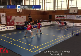 Re-live: TSV 1906 Freystadt – TV Refrath So 24.03.2019 [Court 1]