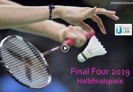 Re-live: 1. BL Final Four 2019: Halbfinals – 13.04.2019 16:00