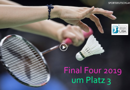 Re-live: 1. BL Final Four 2019: Spiel um Platz 3 – 14.04.2019 10:00