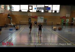[Court 2] TSV 1860 Ansbach – ESV München [RegLG SüO] 07.09.2019