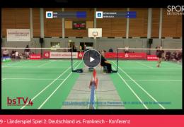 U19 – Länderspiel Spiel 2: Deutschland vs. Frankreich – 05.11.2019