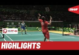 Macau Open 2019 | Finals MS Highlights | BWF 2019
