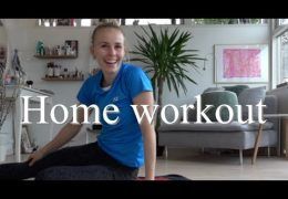 Workout with Me: Home Workout Core-session