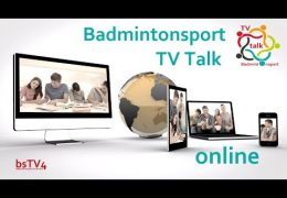 Badmintonsport TV Talk online [zoom]