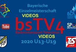 Bayerischen Einzelmeisterschaft U13-U19 2020 [ALL]